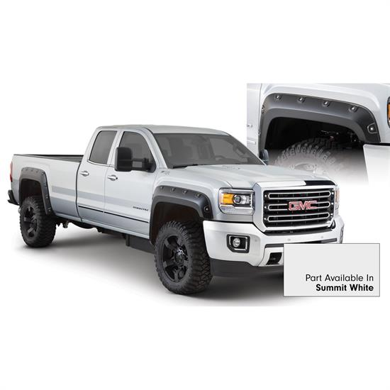 Bushwacker 40968-14 Boss Pocket Painted Fender Flares Sierra