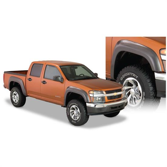 Bushwacker 41029-02 Extend-A-Fender Flares Front Colorado/Canyon