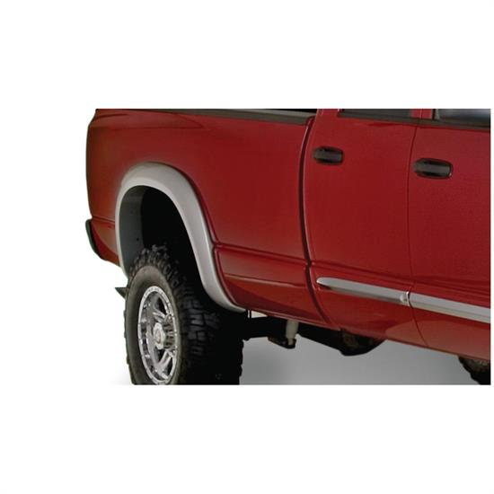 Bushwacker 50014-02 Extend-A-Fender Flares Rear Ram 1500-3500