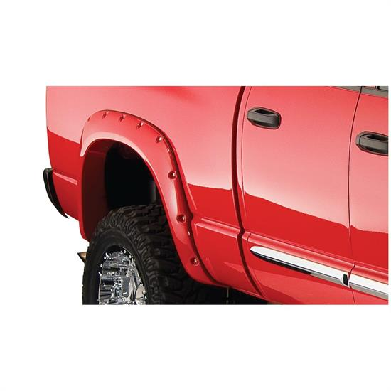 Bushwacker 50018-02 Pocket Style Fender Flares Rear Ram 1500-3500