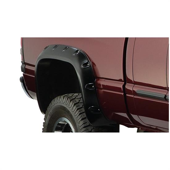 Bushwacker 50030-02 Pocket Style Fender Flares Rear Ram 1500-3500