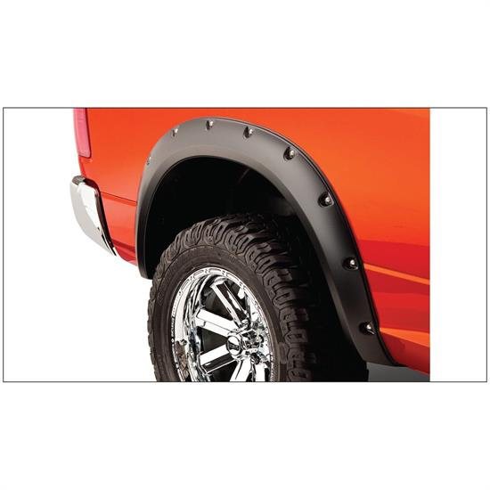 Bushwacker 50038-02 Pocket Style Fender Flares Rear Pair, Ram