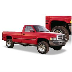 Bushwacker 50902-11 Extend-A-Fender Flares F/R 4pc, Ram 1500-3500