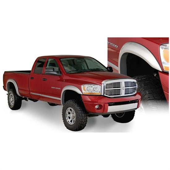 Bushwacker 50912-02 Extend-A-Fender Flares F/R 4pc, Ram 1500-3500