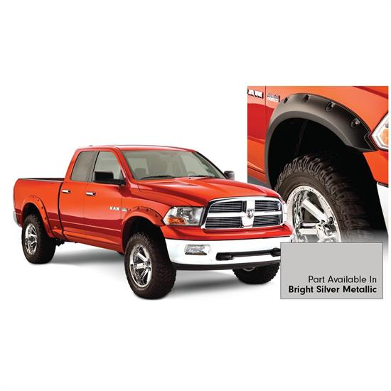 Bushwacker 50915-55 Pocket Painted Fender Flares F/R Ram 1500