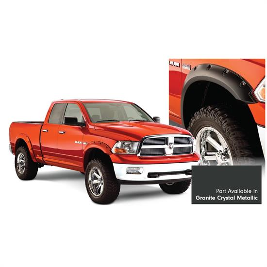Bushwacker 50915-65 Pocket Painted Fender Flares F/R Ram 1500