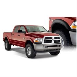 Bushwacker 50918-02 Extend-A-Fender Flares F/R Set/4, Dodge Ram