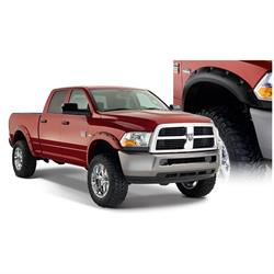Bushwacker 50919-02 Pocket Style Fender Flares F/R 4pc, Dodge Ram