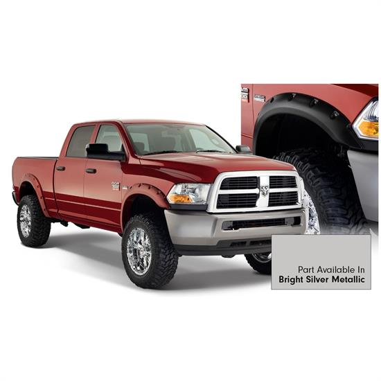 Bushwacker 50919-55 Pocket Style Painted Fender Flares F/R Ram