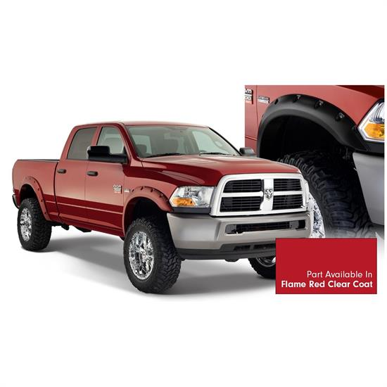 Bushwacker 50919-75 Pocket Style Painted Fender Flares F/R Ram