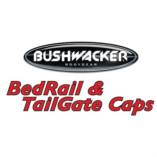 Bushwacker 58513 Ultimate SmoothBack Bed Rail Cap Ram 1500-3500
