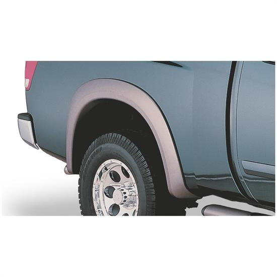 Bushwacker 70002-02 Extend-A-Fender Flares Rear Pair, 04-15 Titan