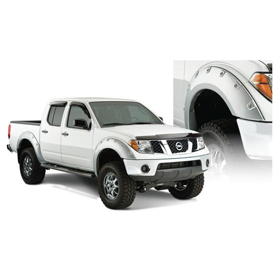 Bushwacker 71906-02 Boss Pocket Fender Flares F/R 06-14 Frontier