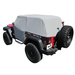 Rampage 1163 Cab Cover Water Resistant Roll Bars Wrangler
