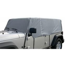 Rampage 1264 Cab Cover 4 Layer Gray, 2007-17 Jeep Wrangler