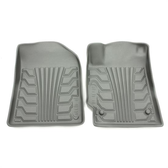 Rampage 4230620 Catch-It Floormat Grey Front, 07-17 Jeep Wrangler