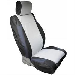 Rampage 5057721 Custom Fit Polycanvas Seat Cover Front, Wrangler