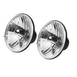 Rampage 5089925 Halogen Headlight Conversion 7in H4 55/60W Bulbs