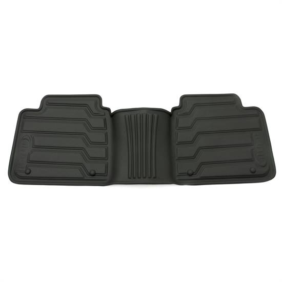 Rampage 5230610 Catch-It Floormat Black Rear, 07-14 Jeep Wrangler