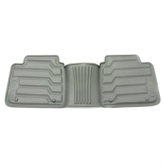 Rampage 5230620 Catch-It Floormat Grey Rear, 07-14 Jeep Wrangler