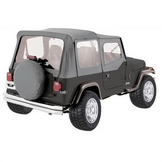 sc 1 st  Speedway Motors & Rampage 68111 Complete Soft Top Soft Upper Doors CJ5/CJ7/Wrangler