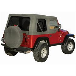 Rampage 68211 Complete Soft Top- Upper Drs Tinted CJ5/J7/Wrangler