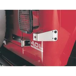 Rampage 7414 Tire Stop Stainless, CJ5/CJ7/Wrangler