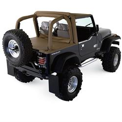Rampage 769015 Roll Bar Padding Kit Full Kit Tj/Wrangler