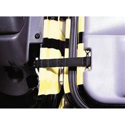 Rampage 769401 Adjustable Door Strap Pair, Jeep