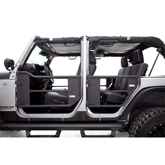 rampage 7695 trail doors 2 door set 2007 17 jeep wrangler. Black Bedroom Furniture Sets. Home Design Ideas