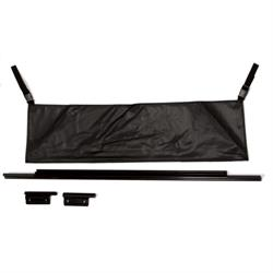 Rampage 77015 Tailgate Bar Kit Black, Tj/Wrangler