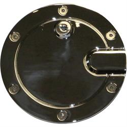 Rampage 87016 Billet Fuel Door Cover Locking w/ 2 Keys F150
