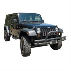 Rampage 88625 Front Double Tube Bumper Light Pod/Stinger Wrangler