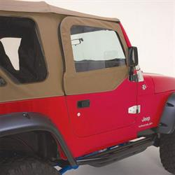 Rampage 89717 Door Skin For Soft Upper Doors Pair, Tj/Wrangler