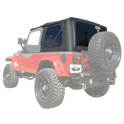 Rampage 912835 Factory Soft Top Over Stock Frame Tj/Wrangler