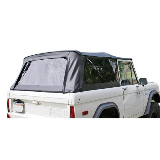 Rampage 98402 Complete Soft Top Kit w/ Top/Frame, 66-77 Bronco