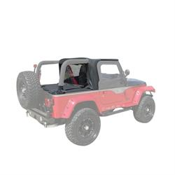Rampage 994015 Soft Cab Top-Soft Top Tonneau Cover, Tj/Wrangler