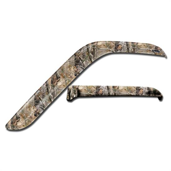 Stampede 6007-17 Tape-Onz Sidewind Deflector Realtree Chevy/GMC