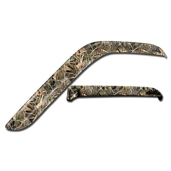 Stampede 6012-12 Tape-Onz Sidewind Deflector Realtree Chevy/GMC