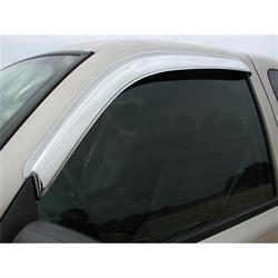 Stampede 6061-8 Tape-Onz Sidewind Deflector 2pc. Front, Chevy/GMC