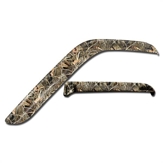 Stampede 61100-12 Tape-Onz Sidewind Deflector Realtree Max-4 F150