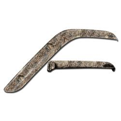 Stampede 6184-16 Tape-Onz Sidewind Deflector 2pc Duck Blind, F150