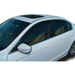 Stampede 6725-2 Tape-Onz Sidewind Deflector. Smoke 08-12 Accord