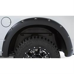 Stampede 8421-5R Ruff Riderz Fender Flare Black Rear Textured Ram