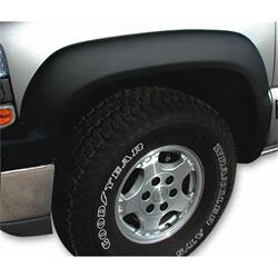 Stampede 8523-2 Trail Riderz Fender Flare Black Set/4 Smooth, Ram