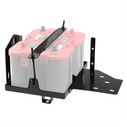 Smittybilt 2799 Dual Battery Tray