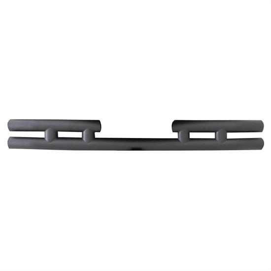 Smittybilt JB44-RT Rear Tubular Bumper W/O Hitch Textured Black