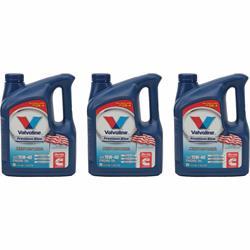 Valvoline 773780 Premium Blue Diesel Engine Oil, 15W40, 3x1 Gal