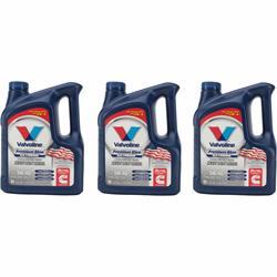 Valvoline 774038 Premium Blue Diesel Engine Oil, 5W40, 3x1 Gal
