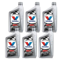 Valvoline 822347 VR1 Racing Oil, 20W50, 6 Quart
